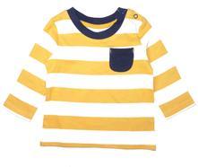 Bavlněné tričko s kapsou,, nutmeg,74