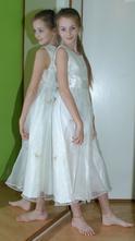 Dlouhé společenské plesové šaty i pro družičku, next,152