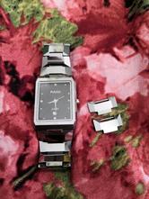 Luxusní dámské hodinky rádo jubilé swiss s brilian,