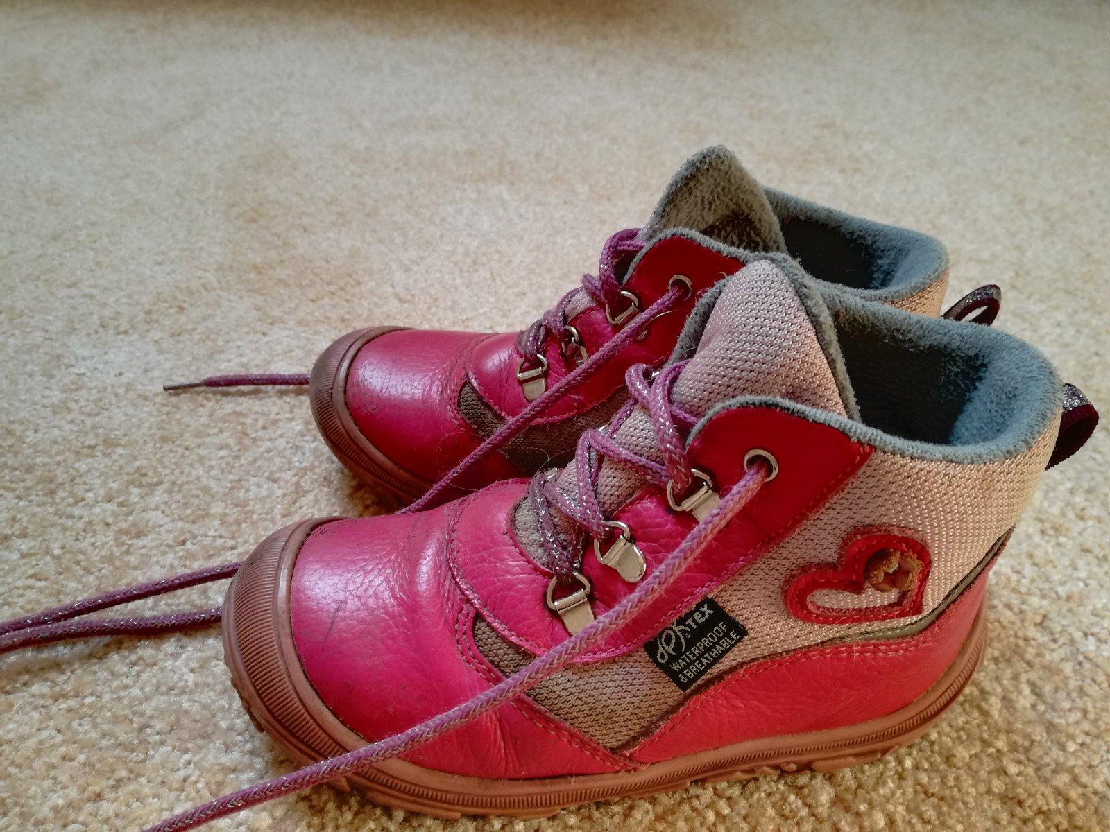 Zimní dívčí boty s membránou dpk vel. 27 f8d6140e89