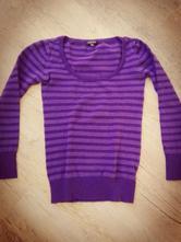 Fialový svetr, amisu,m