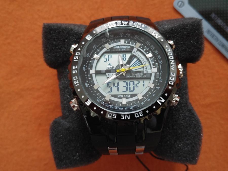 Luxusní hodinky infantry army sport - nové 43cf6f2d16a