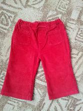 Kalhoty pro holku manžestrové - vel. 74/80 (142), 74