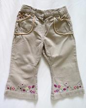 Kalhoty manžestrové, tu,74