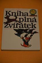 """Prodám knihu """"kniha plná zvířátek"""","""