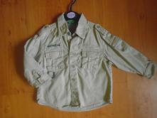 Košile dlouhý rukáv benetton, benetton,86