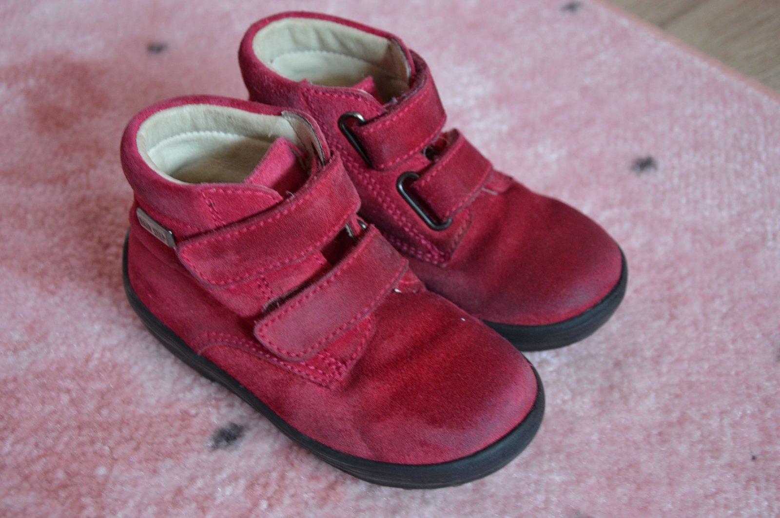eef2831261b Vínové kotníkové boty