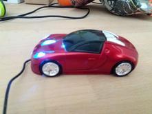 Myš  auto,