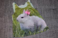 Tílečko s králíkem hm, velikost 110/116 , h&m,110