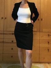 Dámská černá sukně, marks & spencer,38