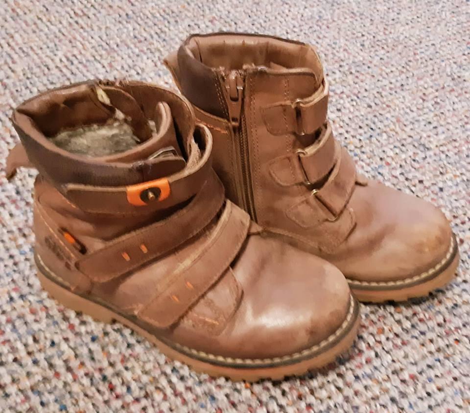 Zimní kožené boty 99d8bedfcf