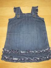 Džínové šaty, gap,80