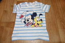 Tričko mickey mouse, h&m,86