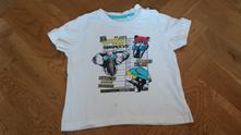 D217chlapecké triko zvířata vel. 86-92, lupilu,86