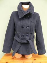 Tmavě modrý krátký kabátek silvia&luisa - vel.m, m