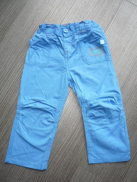 Modré plátěné kahoty, kik,86