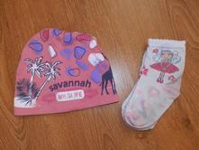Čepice + ponožky,