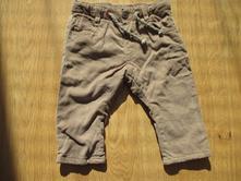 Zateplené kalhoty, zara,68