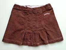 Manšestrová sukně sukýnka vel. 80, h&m,80