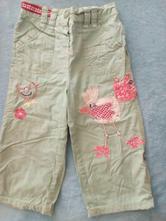 Plátěné kalhoty s bavlněnou podšívkou, next,86