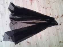 Satenový šátek černý,čarodějnice,
