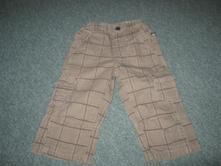 Kostkované kalhoty., kik,80
