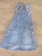 Džínová laclová sukně, 104