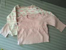 2x bavlněné triko dl.rukáv, lupilu,74