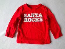 Vánoční tričko, mothercare,80