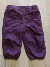 Zateplené kalhoty vel. 68, okay,68