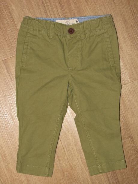 Elegantní kalhoty pro chlapce, vl370, h&m,68