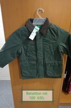 Chlapecká bunda benetton vel.100   výprodej, benetton,98