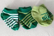 3 x kotníkové ponožky, lupilu,22