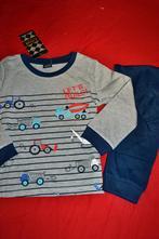 Bavlněná pyžama s auty,bagry a jeřáby, 98 - 134
