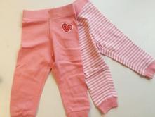 Dívčí kojenecké kalhoty č.386, lupilu,62