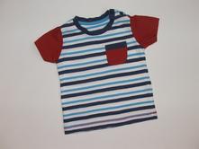 K824 pruhované tričko vel. 68, matalan,68