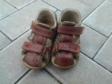 Dětské zdravotní  kožené sandály vel. 23, santé,23