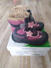 Zimní boty pro holčičku, protetika,21