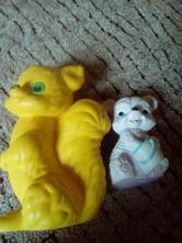 Hračky pro kojence .,