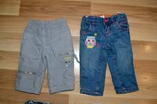 Zateplené kalhoty vel 74, c&a,74