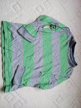 Pruhované tričko s dl. rukávem, marks & spencer,116