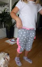 Rostoucí holčičí baggy na vel.cca.92-110, 86 - 140