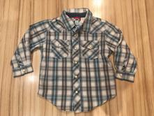 Bavlněná košile dlouhý rukáv, gap,104