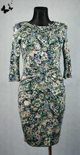 Květované šaty vel 38, 38