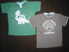 2x tričko h&m, h&m,86