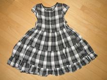 Kostkované šaty, next,122