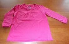 Růžové triko dlouhý rukáv kiki&koko, kiki&koko,104