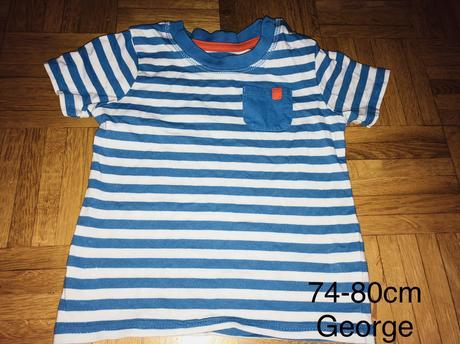 Tričko 74-80 cm, george,74