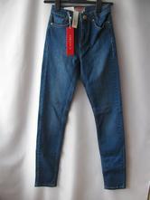Elastické kalhoty,džíny,jegginy, 32