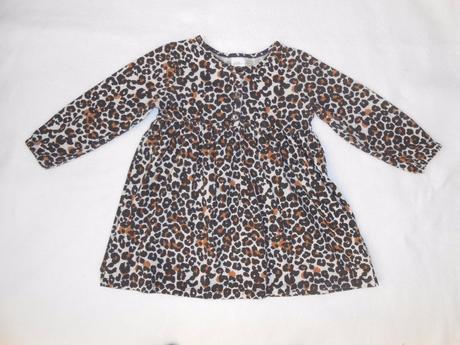 H&m - leopardí tunika / šatky, vel. 86/92, h&m,86